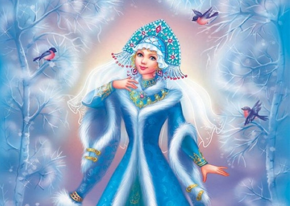 Красавица зима картинка для детей
